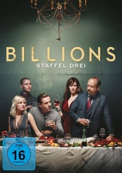 Billions - Staffel 3 - Paul Giamatti,Damian Lewis,Maggie Siff