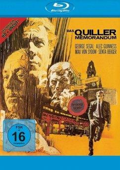 Das Quiller Memorandum Uncut Edition - Segal,George/Guinness,Alec/Sydow,Max Von/+