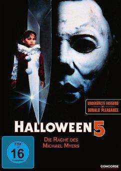 Halloween 5 - Halloween 5-Die Rache Des Michel Myers/Dvd