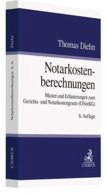Notarkostenberechnungen - Diehn, Thomas