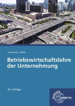 Betriebswirtschaftslehre der Unternehmung, m. CD-ROM