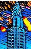 New York City Chrysler Building Art Journal