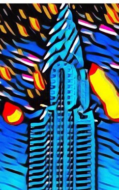 New York City Chrysler Building Art Journal - Huhn, Sir Michael