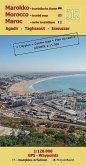 J12: Agadir - Taghazout - Imouzzer 1:120.000 GPS - Waypoints
