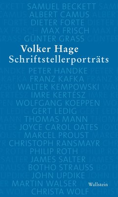 Schriftstellerporträts (eBook, PDF) - Hage, Volker