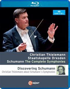 Schumann: Sämtliche Sinfonien [Blu-Ray] - Thielemann,Christian/Staatskapelle Dresden