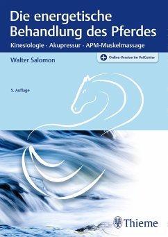 Die energetische Behandlung des Pferdes - Salomon, Walter