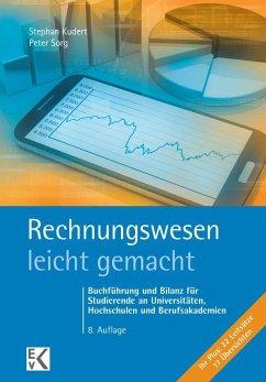 Rechnungswesen - leicht gemacht - Kudert, Stephan; Sorg, Peter
