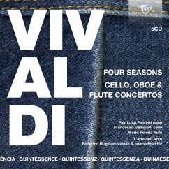 Vivaldi:Four Seasons,Cello,Oboe & Flute Concertos - Guglielmo/Fabretti/Galligioni/Folena/+