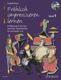 Fröhlich improvisieren lernen - Klarinette in B, m. Audio-CD