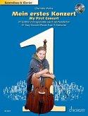 Mein erstes Konzert, Kontrabass und Klavier, m. Audio-CD