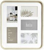 Nielsen Collage 5 Passepartout 5 Bilder Holz eiche/weiß 8999401
