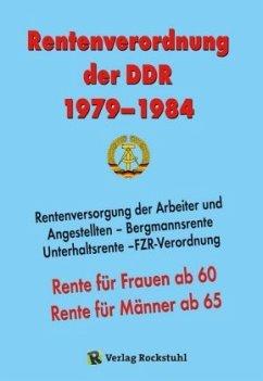 Rentenverordnung der DDR 1979-1984
