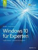 Windows 10 für Experten (eBook, PDF)