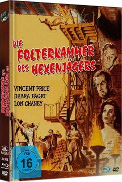 Die Folterkammer des Hexenjägers / Das Schloss des Grauens Mediabook - Price,Vincent/Paget,Debra/Chaney Jr.,Lon