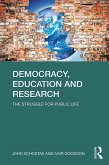 Democracy, Education and Research (eBook, PDF)