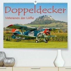 Doppeldecker - Veteranen der Lüfte(Premium, hochwertiger DIN A2 Wandkalender 2020, Kunstdruck in Hochglanz) - Keller, Markus