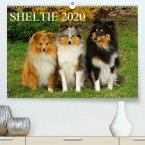 Sheltie 2020(Premium, hochwertiger DIN A2 Wandkalender 2020, Kunstdruck in Hochglanz)