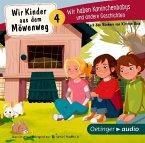 Wir Kinder aus dem Möwenweg - Wir haben Kaninchenbabys und andere Geschichten, 1 Audio-CD (Mängelexemplar)