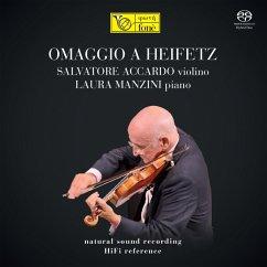 Omaggio A Heifez (Natural Sound Recording) - Accardo,Salvatore & Manzini,Laura