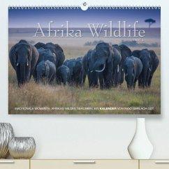 Emotionale Momente: Afrika Wildlife. Part 3. / CH-Version(Premium, hochwertiger DIN A2 Wandkalender 2020, Kunstdruck in Hochglanz)