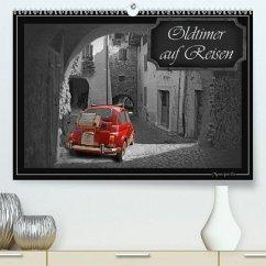 Oldtimer auf Reisen(Premium, hochwertiger DIN A2 Wandkalender 2020, Kunstdruck in Hochglanz) - Jüngling alias Mausopardia, Monika