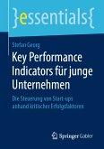 Key Performance Indicators für junge Unternehmen (eBook, PDF)