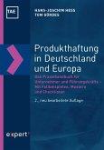 Produkthaftung in Deutschland und Europa (eBook, PDF)