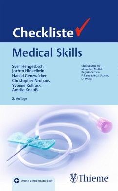 Checkliste Medical Skills (eBook, PDF)
