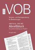 VOB Teil B - DIN 1961 - Abreißblock