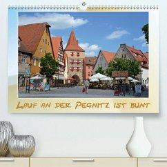 Lauf an der Pegnitz ist bunt(Premium, hochwertiger DIN A2 Wandkalender 2020, Kunstdruck in Hochglanz)