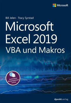Microsoft Excel 2019 VBA und Makros (eBook, ePUB) - Jelen, Bill; Syrstad, Tracy