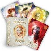 Goddess Power Oracle, Orakelkarten m. Anleitungsbuch (Standard)