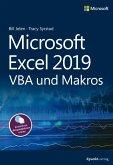 Microsoft Excel 2019 VBA und Makros (eBook, PDF)