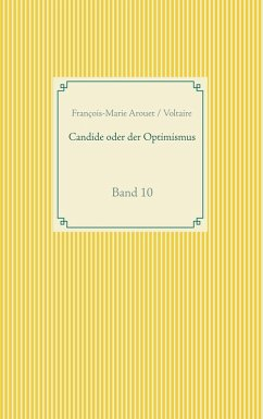 Candide oder der Optimismus (eBook, ePUB)