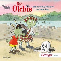 Die Olchis und die Gully-Detektive von Loch Ness / Die Olchis-Kinderroman Bd.12 (MP3-Download) - Dietl, Erhard