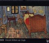 Vincent Willem van Gogh 2020 - Black Edition - Timokrates Kalender, Wandkalender, Bildkalender - DIN A3 (42 x 30 cm)