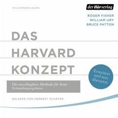 Das Harvard-Konzept (MP3-Download) - Fisher, Roger; Ury, William; Patton, Bruce