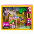 Barbie Insektenforscherin Puppe und Spielset