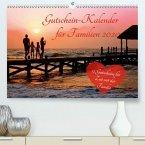 Gutschein-Kalender für Familien 2020 (Premium-Kalender 2020 DIN A2 quer)