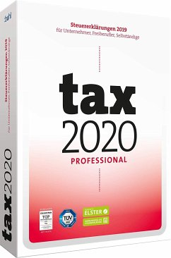 tax 2020 Professional, 1 CD-ROM