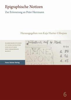 Epigraphische Notizen (eBook, PDF)