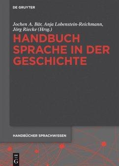 Handbuch Sprache in der Geschichte (eBook, ePUB)