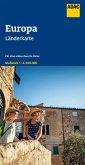 ADAC Länderkarte Europa 1:4,5 Mio.
