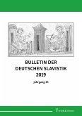 Bulletin der Deutschen Slavistik 2019
