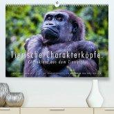 Tierische Charakterköpfe (Premium, hochwertiger DIN A2 Wandkalender 2020, Kunstdruck in Hochglanz)