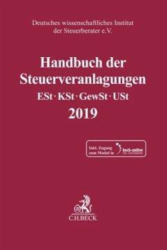 Handbuch der Steuerveranlagungen 2019