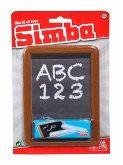 Simba 106332366 - Schreibtafel mit Kreide