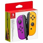 Joy-Con 2er-Set Neon-Lila/Neon-Orange