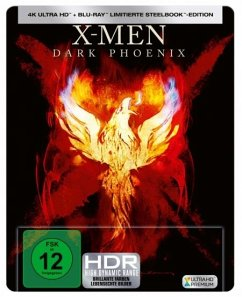 X-Men: Dark Phoenix 4K Ultra HD Blu-ray + Blu-ray / Steelbook